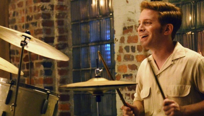 seth green playing drums