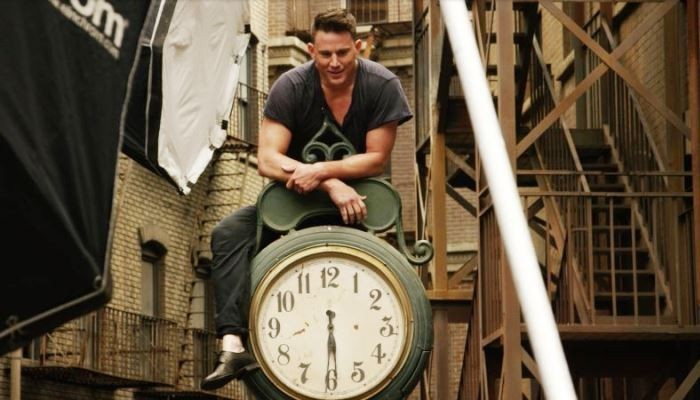 Channing Tantum on the Clock
