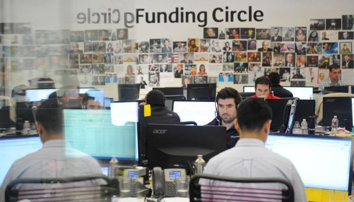 Funding Circle workplace