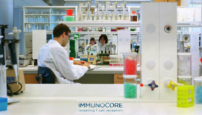 scientist working at immunocore