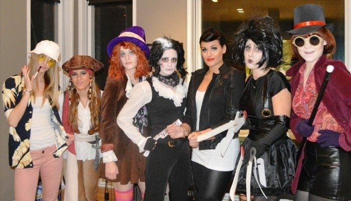 Johnny Depp costumes