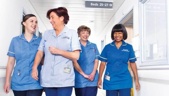 NHS medical workers