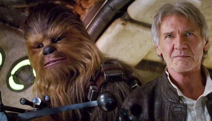 Han Solo and Wookie