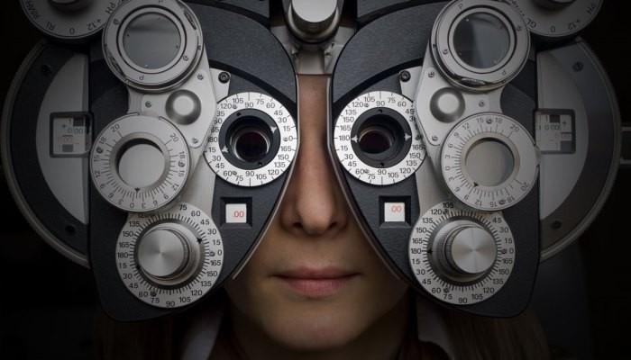 Optometry patient