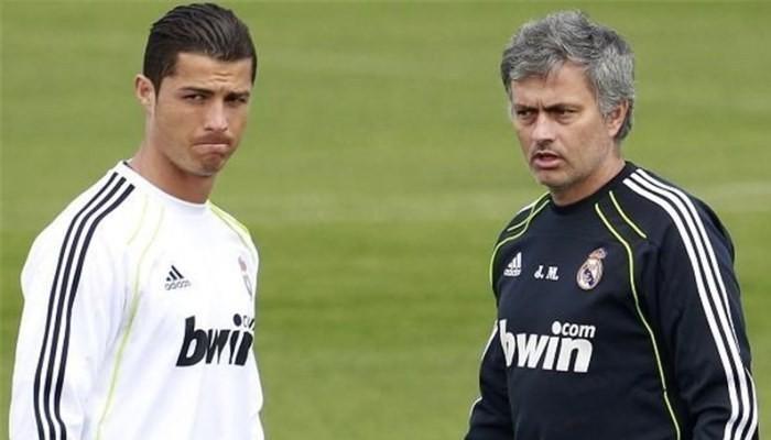 Ronaldo and Mourinio