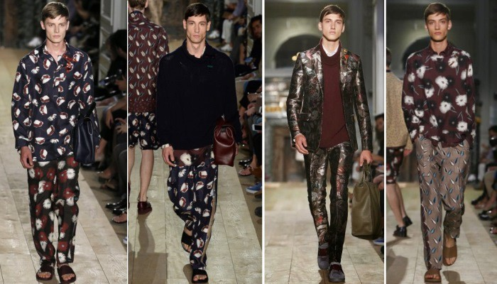 valentino Lounging in Style men trend 2015