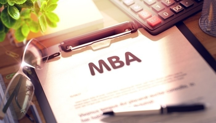 mba on clipboard