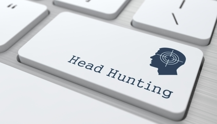 headhunt keyboard target on head
