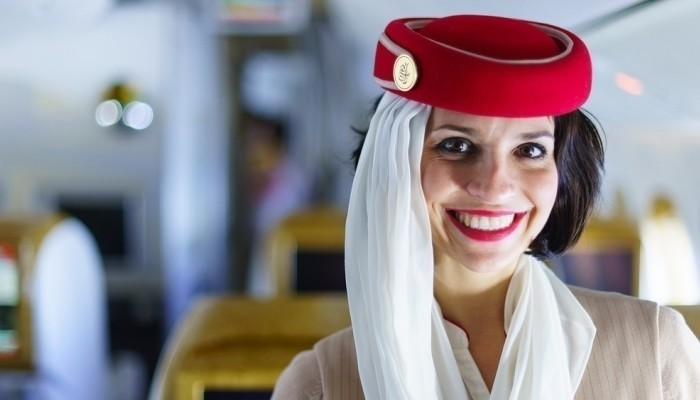 emirates female cabin crew