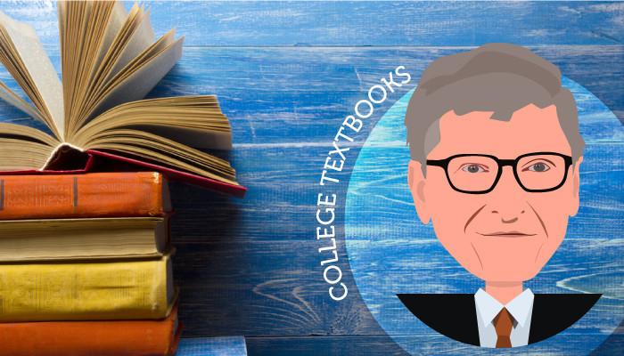 bill and melinda gates free textbooks