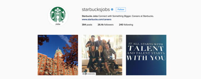 Starbucks Instagram