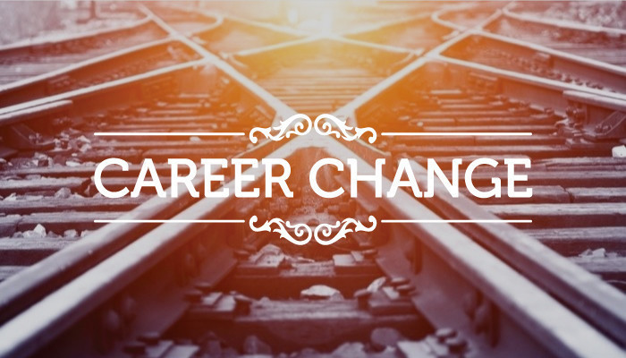 career change phrase over train junction