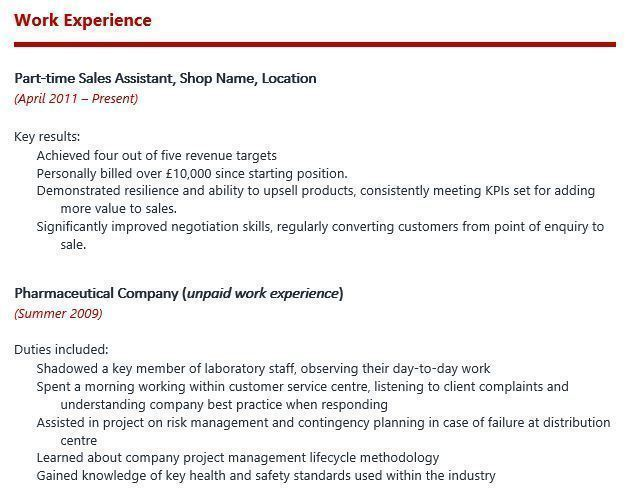 Reed employment cv writing