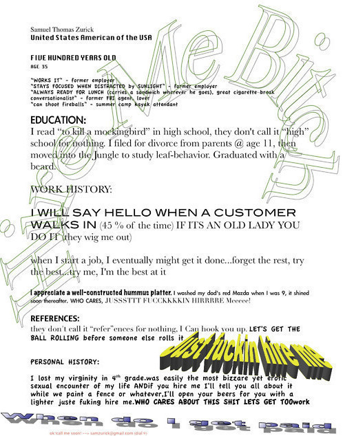 20 of the funniest resumes and cvs you ll see