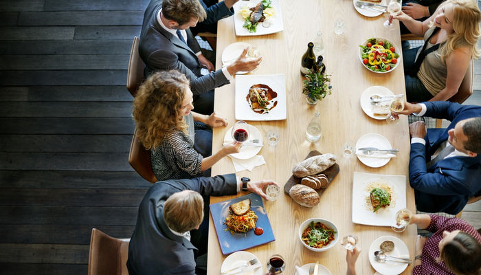 How to Master the Business Lunch