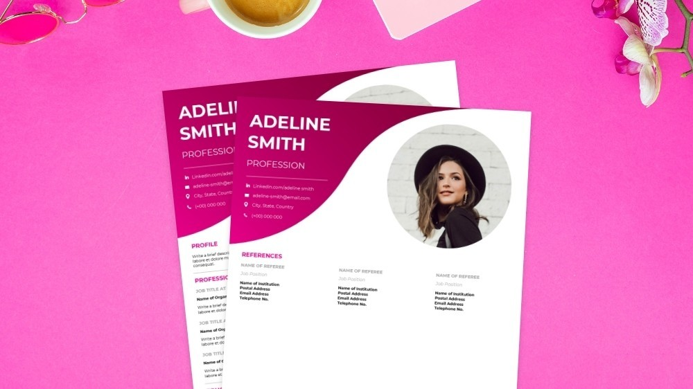 Contemporary CV Template