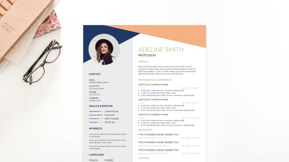 Artistic CV Template
