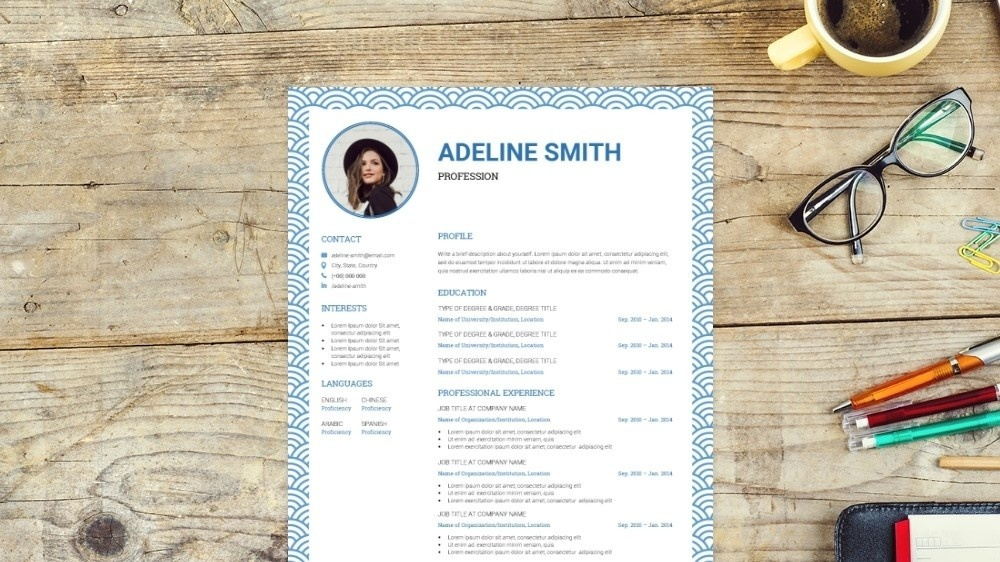 Cloud CV Template