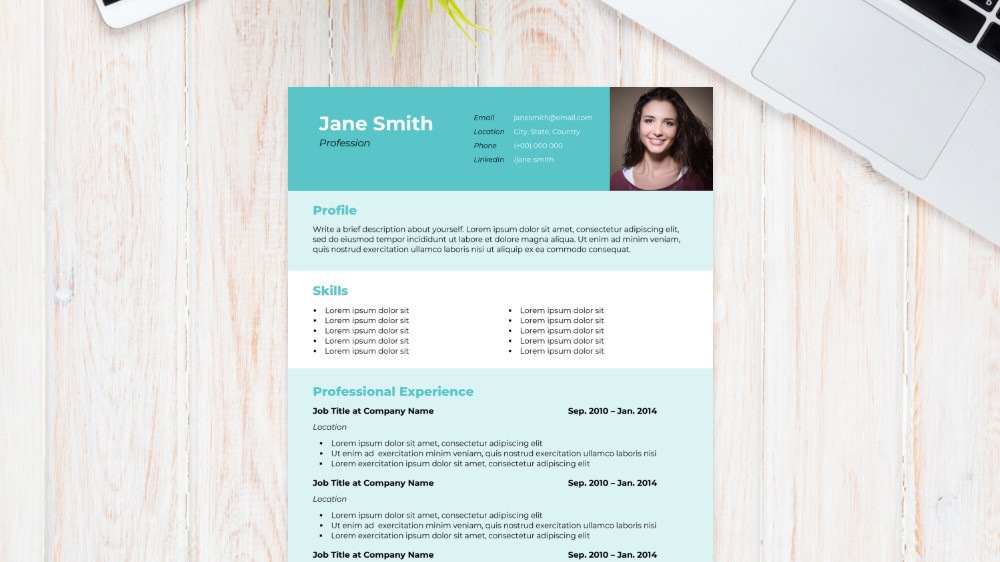 Cubic CV Template