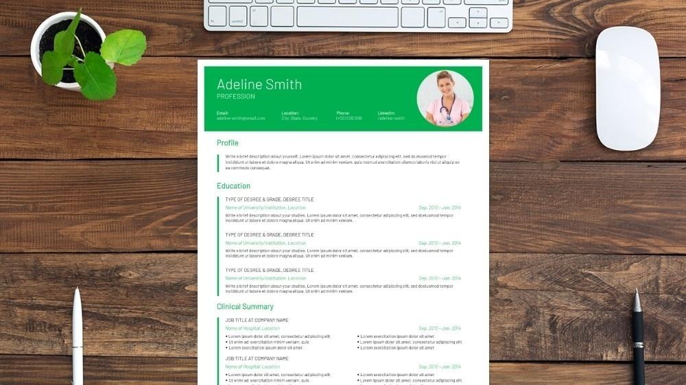 Charismatic CV Template