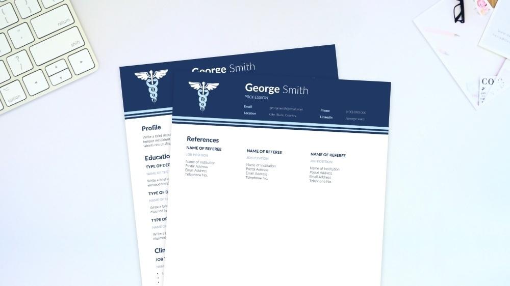 Clinical CV Template