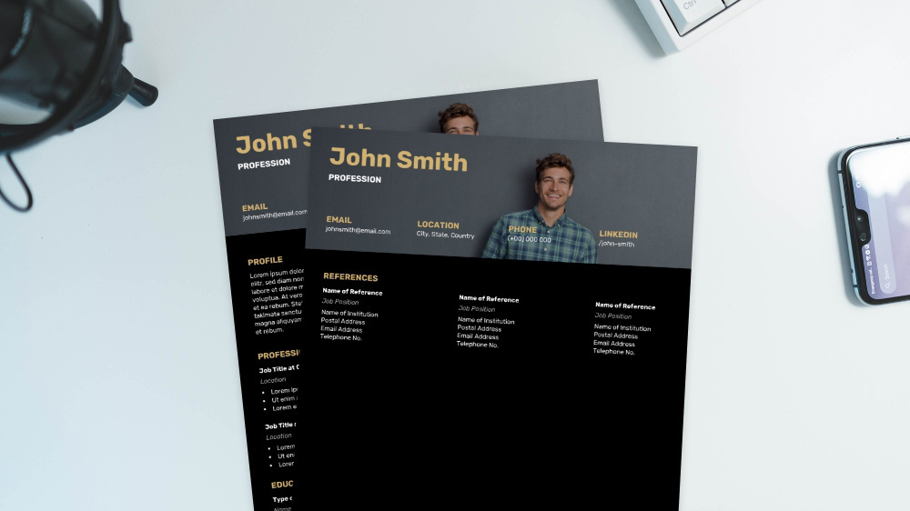 Sleek CV Template