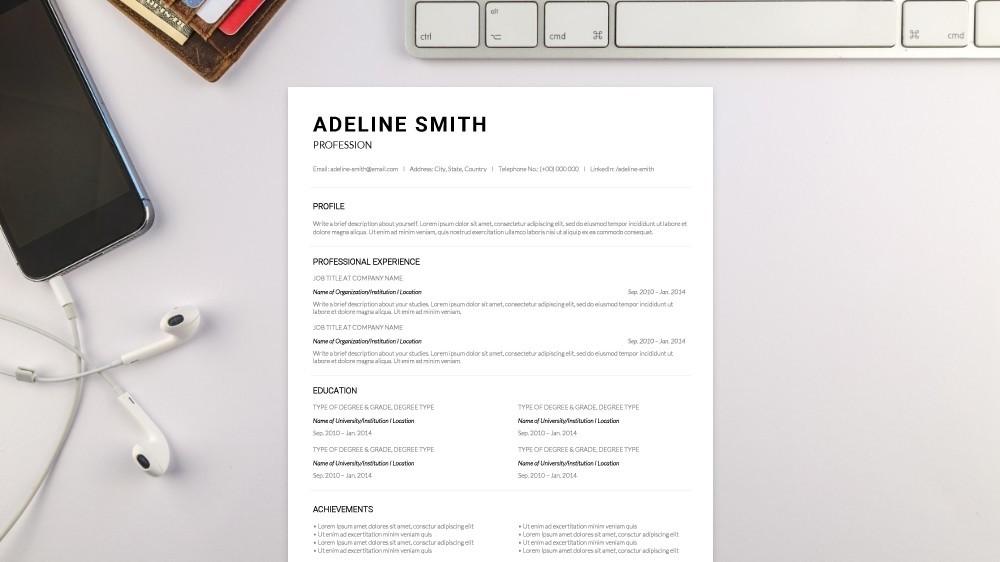 Graceful CV Template