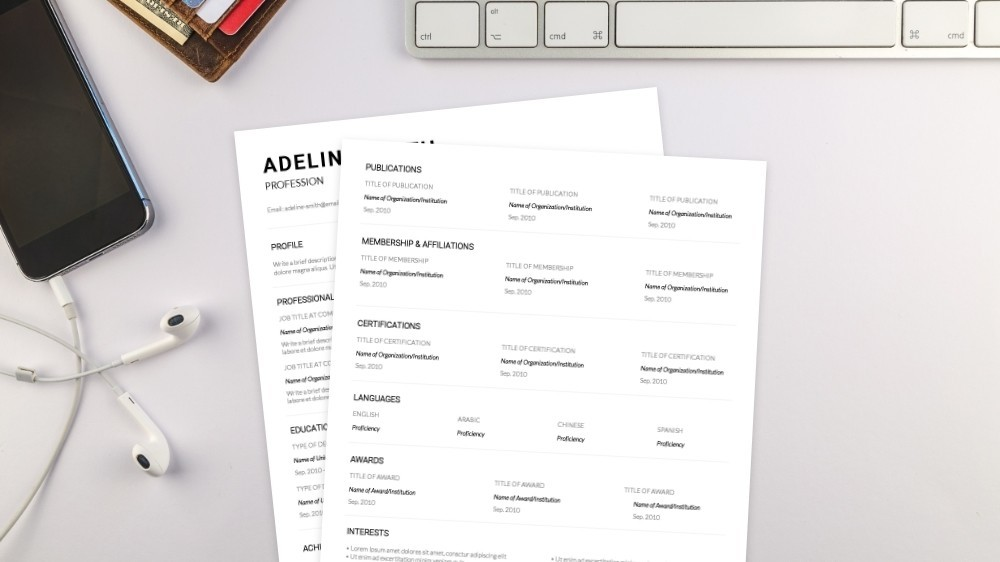 Graceful CV Template