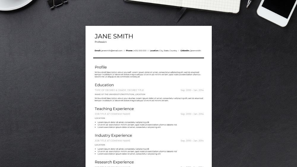 Classic CV Template