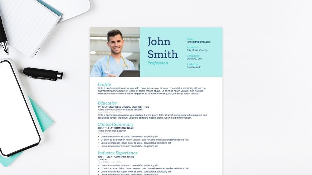 Pharmaceutical CV Template
