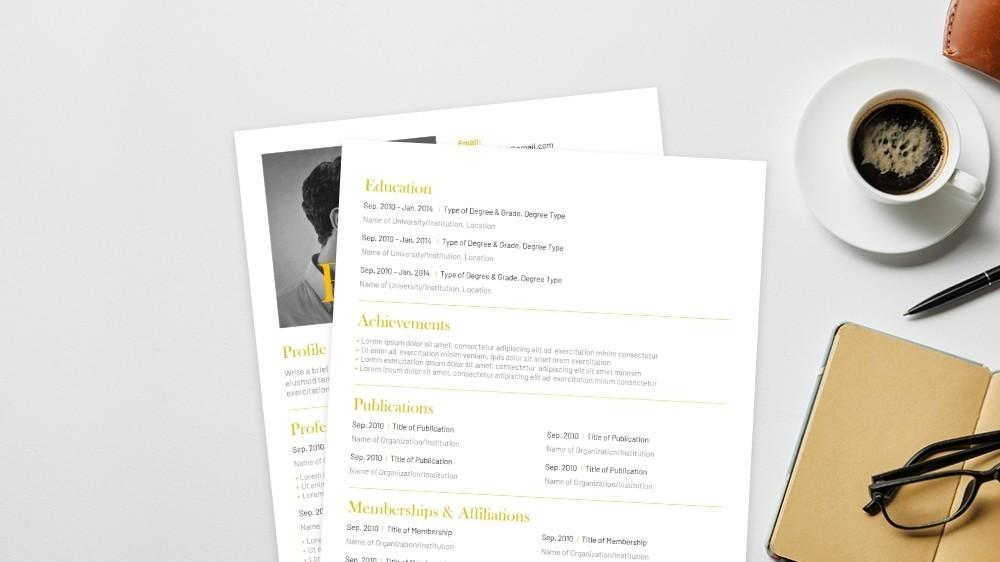 Overleaf CV Template